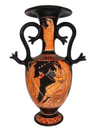 Greek Red Figure Vase Minoan And Greek Pottery For Sale Vase Replicas At The Ancient Home