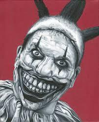 creepy clown paintings fine art america