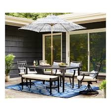 Steel Patio Chairs Fairmont Steel Patio Furniture Dining Collection Threshold Target