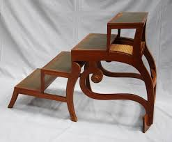 Library Chair A 19c Metamorphic Library Chair Steps Stock Blanchard
