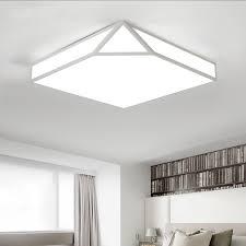 eclairage de bureau géométrique créative led plafonnier pour salon chambre bureau déco