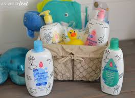 make a baby bath time kit