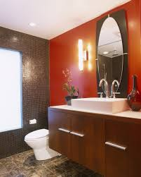 neat bathroom ideas red bathroom photos 14 of 35