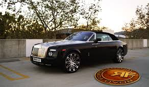 roll royce coupe aftermarket wheels pictures rolls royce phantom drophead coupe