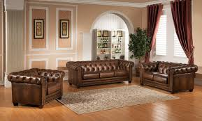 What Is Chesterfield Sofa by Amax Hickory Leather Chesterfield Sofa U0026 Reviews Wayfair