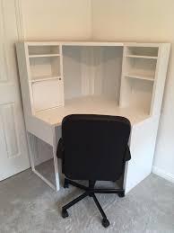 Ikea Desks White by Ikea Micke Corner Computer Desk White In Motherwell North