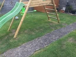 i made a sandpit for below the swings at home still have to make