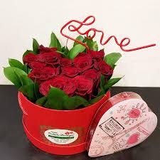 roses in a box valentines roses in a box orchids boutique