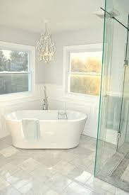 Bathrooms With Freestanding Tubs Before U0026 After A Confined Bathroom Is Uplifted With Bountiful
