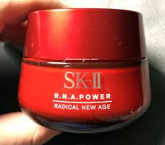 Krim Sk Ii review sk ii r n a power radical new age