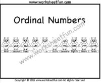 number u2013 ordinal numbers free printable worksheets u2013 worksheetfun