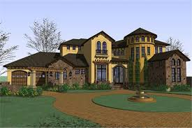 Luxary Home Plans Luxury Home Plan 5 Bedrms 6 Baths 5202 Sq Ft 117 1063