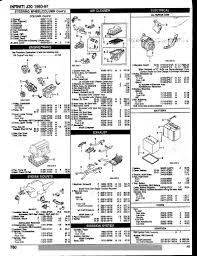 nissan murano engine mount j30 parts diagrams