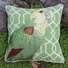 aliexpress com buy vezo home embroidered parrot bird cotton
