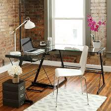 Corner Desk Walmart Furniture Simple Walker Edison Desk Design For Maximum Workspace