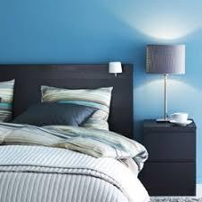 schlafzimmer mit malm bett malm bett deko