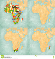 Blank Map Of North Africa by Map Of Africa Flags Of All Countries Blank Map South Africa