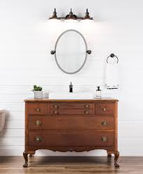 upcycle a dresser bathroom vanity