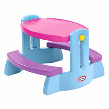 little tikes easy store picnic table little tikes easy store picnic table large with umbrella walmart