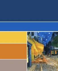 Blue Orange Color Scheme Voor Meer Inspiratie Www Stylingentrends Nl Of Www Facebook Com