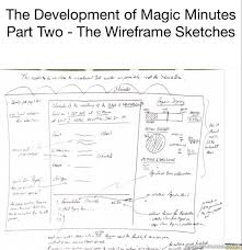 mm history part two u2013 the wireframe sketches magic minutes