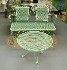remarkable vintage metal outdoor furniture vintage metal furniture