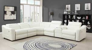 Modern Reclining Sectional Sofas Sofa Leather Reclining Sectional Oversized Sectionals Modern