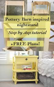 Potterybarn by Diy Pottery Barn Inspired Nightstand Free Plans Anika U0027s Diy Life