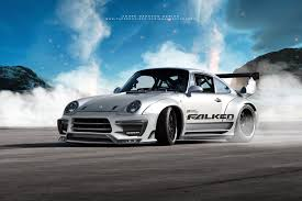 widebody porsche 993 artstation porsche 993 gt2 turbo andré camacho design