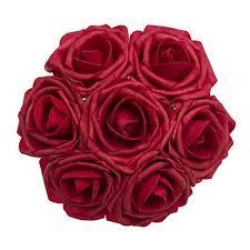 Dark Red Flower - wedding red flower centerpieces amazon com