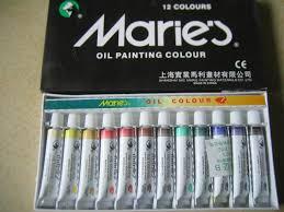 online shop marie u0027s 12 tubes of 12ml artists oil color oilcolor