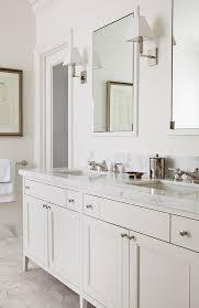Bathroom Vanities With Marble Tops Amazing Bathroom Vanity With White Marble Top Transitional