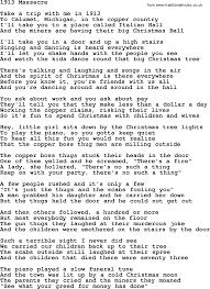 woody guthrie song 1913 massacre lyrics