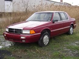 Dodge Spirit Plymouth Acclaim Chrysler 1991 Dodge Spirit Specs And Photos Strongauto
