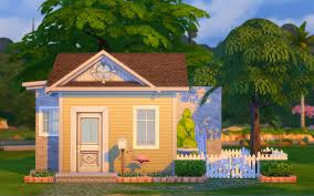 Sims House Ideas My Sims 4 Blog Tiny House Big Heart By Madmono Sims4