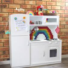 play kitchen ideas before and after a kmart wooden play kitchen hack wooden play
