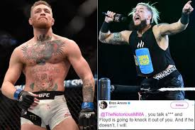 picture of enzo enzo tells conor mcgregor that floyd mayweather is