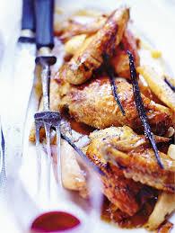 cuisiner une poularde pour noel poularde à la vanille poires et amandes pour 6 personnes recettes