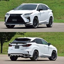 lexus rx200t review indonesia lexus rx wide body kit by artisan spirits 5 modified cars
