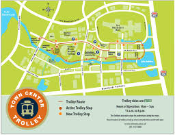 Montgomery Mall Map The Woodlands Trolley
