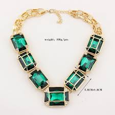 big crystal statement necklace images 2014 new big crystal necklaces pendants fashion vintage collar jpg