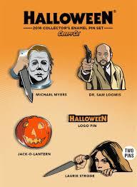 the horrors of halloween halloween horror enamel pins