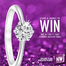 win a wedding ring nwj jewellery win a diamond