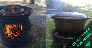 Fire Pit Diy Amp Ideas Diy How To Make Recycled Car Wheel Fire Pit Diy U0026 Crafts Handimania