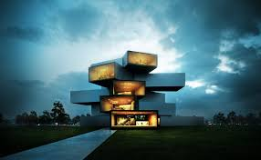 Home Design And Decor Magazine Modern Houses 3d Visualization And On Pinterest Idolza