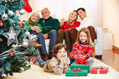 family portrait tree presents gifts