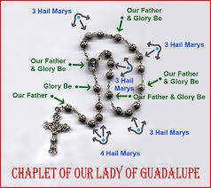Chaplet Of The Holy Face Our Lady Of Guadalupe Devotion To Our Lady