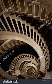 sepia picture spiral stairway stock photo 26023306 shutterstock