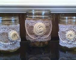 rustic wine glasses or candle holdersredneck wine