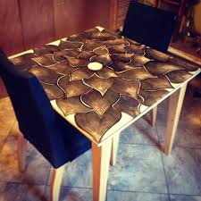 love this kitchen table just a little stain art wood stain